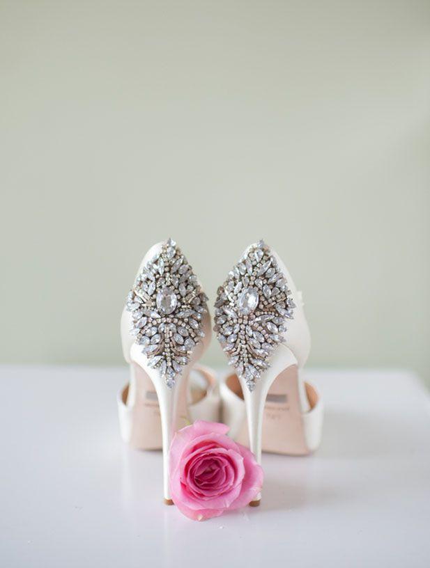 Crushing on these Badgley Mischka Heels! Blue Rose Photography