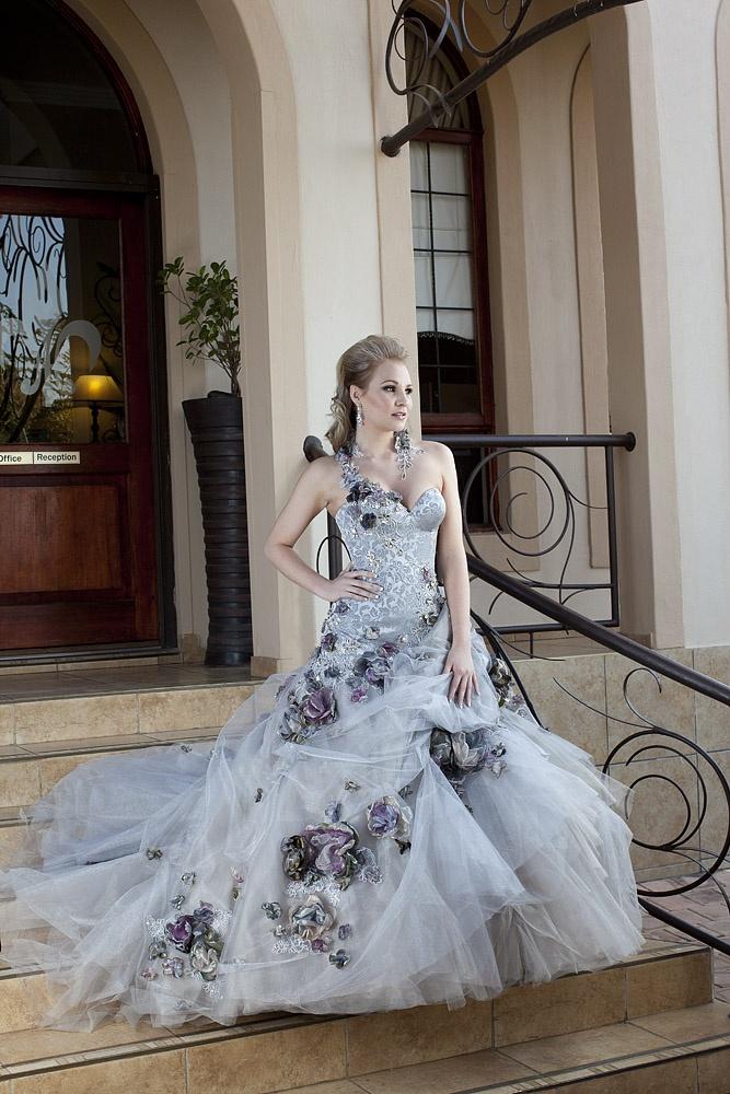 A Bridal Storm by F Wilson Fashion Design