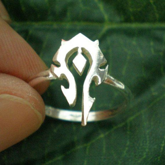 World at Warcraft Ring - World of Warcraft Ring Jewelry