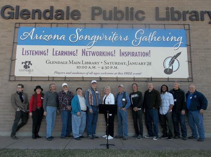 The Arizona Songwriters Gathering at Glendale Public Library