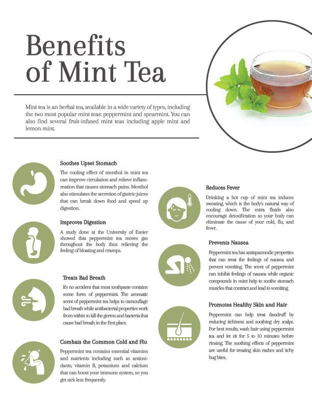 9 Healing, Soothing Benefits of Mint Tea | Everything Tea