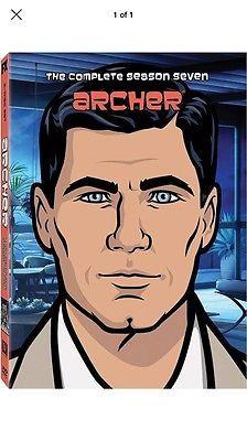 NEW Archer: Season 7 (DVD, 2 Disc Set, 2017)Free USPS First Class Shipping Fast!