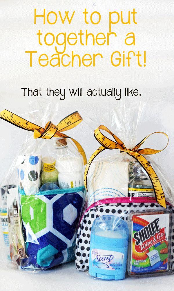 Teacher Gift.  Good gift idea for various professionals.