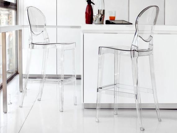 Impressionnant Chaise Haute Transparente Home Bar Accessories White Modern Kitchen Modern Dining Room