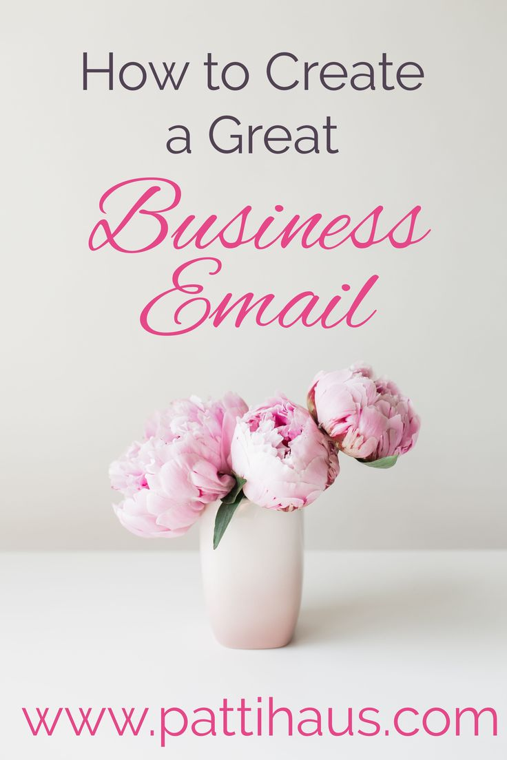 How to write a great business email that shows how professional and knowledgeable you are.