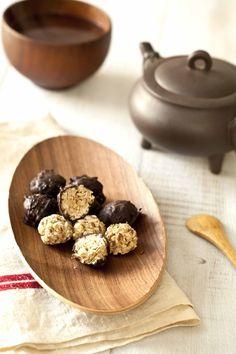 Bouchées énergétiques au chocolat