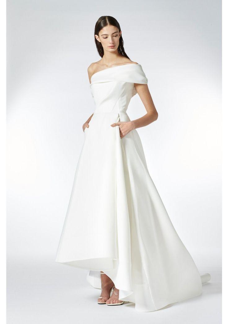 1000 ideas about one shoulder dresses on pinterest for One shoulder wedding dress