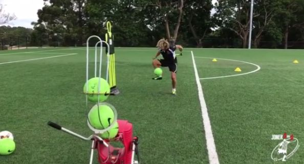 Get the @powapass to develop your first touch skills. @joner1on1footballtraining  #soccer #football #players #sport #team #keepers #coaches #fitness #skill #drills #machine #ball #net #champions #confidence #coordination #speed #improve #game #pitch #train #training #heading #trapping #volleying #turns #crosses #corners #target #sessions #practice #solo #group #trajectory