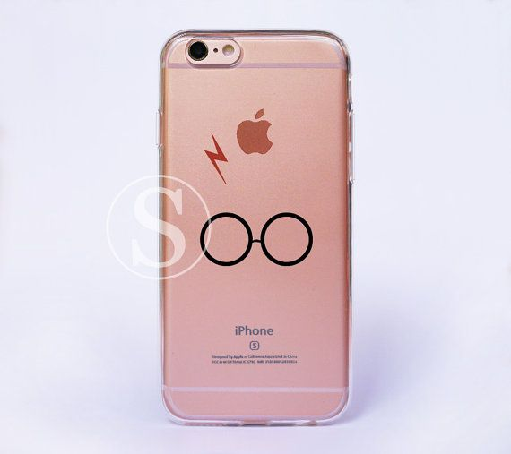 Harry Potter iPhone 6 Case Clear iPhone 6s Plus Case by SimpleBest