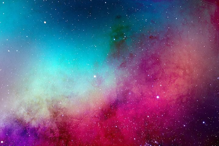 Space Watercolor Backgrounds - Free Design of The Week Design 10