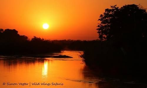 Sunrise over the Sabie River, #KrugerNationalPark