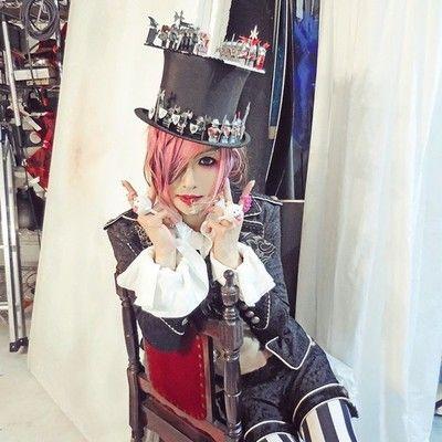 Koichi of MEJIBRAY at a photoshooting on Aug. 25th, 2014.