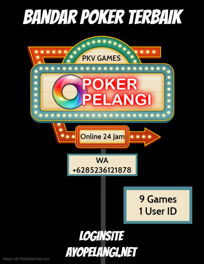 Ayopelangi Net Pelangi Game Poker