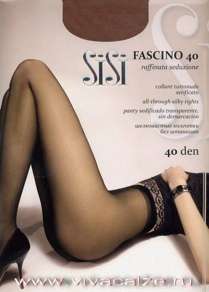 FASCINO 40 Эластичные полуматовые #колготки однородные по всей длине с невидимым мыском.