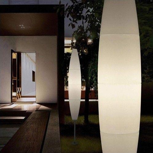 Modern outdoor floor lamps 25 havana outdoor floor lamp modern outdoor lighting mozeypictures Images