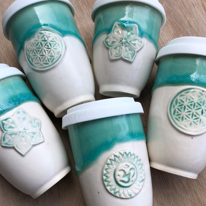 Beautiful reusable ceramic coffee cups that you can keep