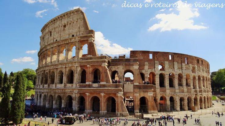Roteiro de 4 dias em Roma na Itália - ajudando seu planejamento com sugestões de o que fazer, onde ficar, onde e o que comer.