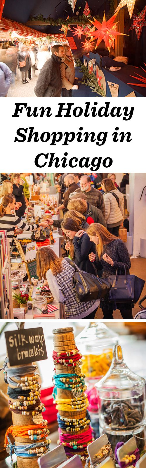 Three Chicago markets to visit for thoughtful gifts this season: http://www.midwestliving.com/travel/illinois/chicago/shopping/3-holiday-markets-chicago/