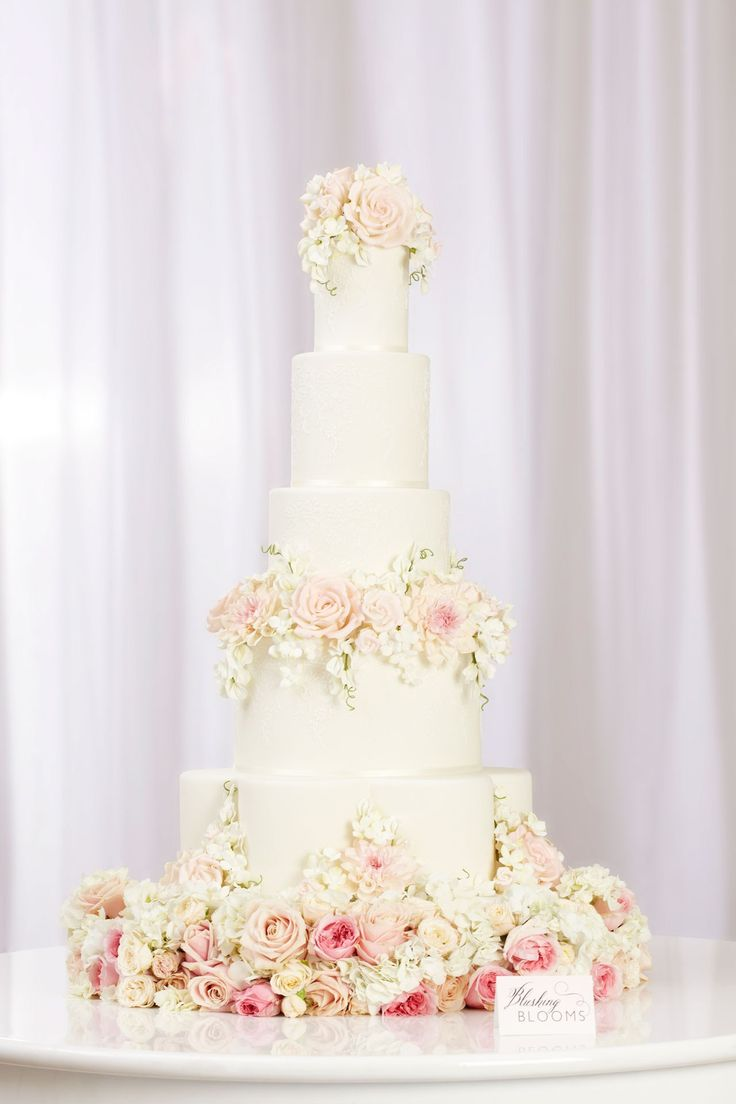 Peggy Porschen Floral Wedding Cake Collection - Blushing Blooms