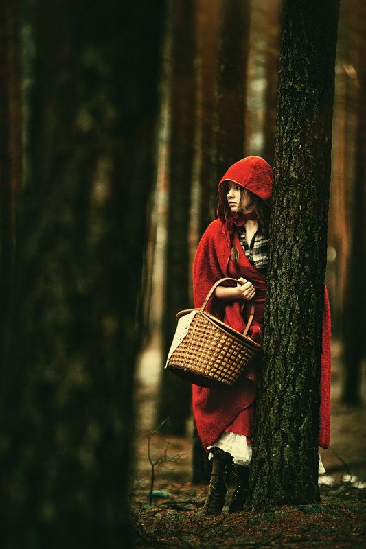 Little Red is one of my favorite fairy tales because sometimes Little Red is a smart bad-ass.