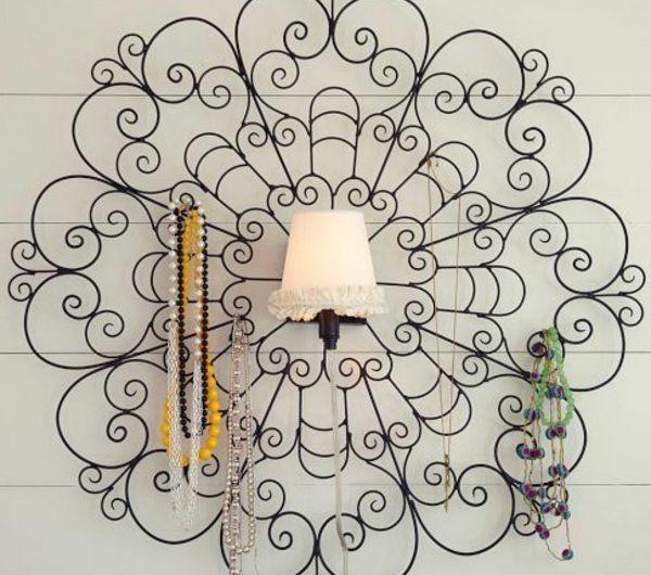 les 25 meilleures id es de la cat gorie porte bijoux mural sur pinterest cintre de bijoux. Black Bedroom Furniture Sets. Home Design Ideas