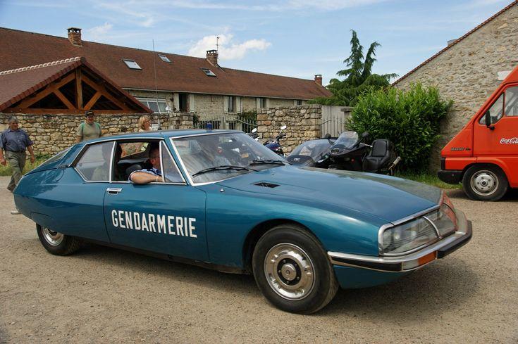 Citroën SM - Gendarmerie