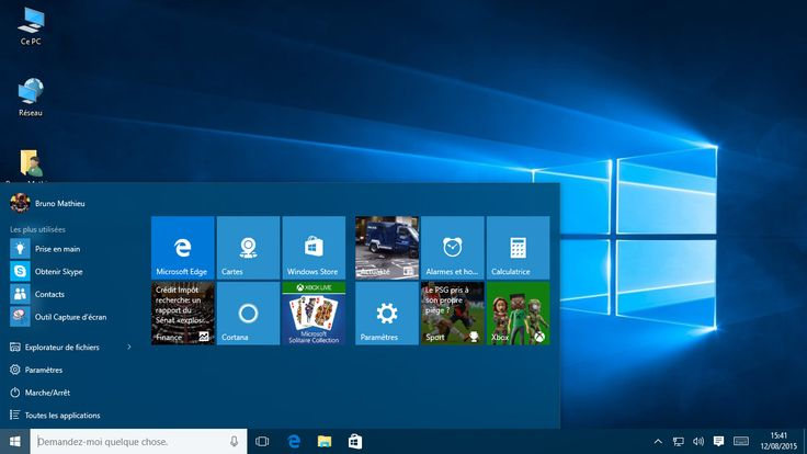 Cortana, Edge, Menu Démarrer... comprendre les nouveautés de Windows 10