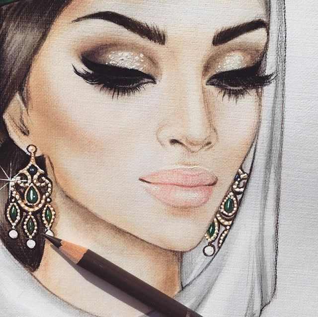437 Best Images About ART U2661 On Pinterest | Fashion Sketches Art Drawings And Fashion Illustrations