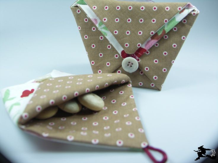 Perlenspiegel: Origami-Falt-Täschchen
