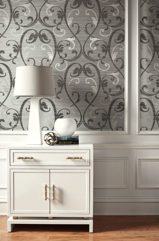 Damask Mirrors 33 best damask images on pinterest damascus damasks and damask elegant damask wallpaper on grasscloth texture printed on mylar from wallquests fusion collection sisterspd