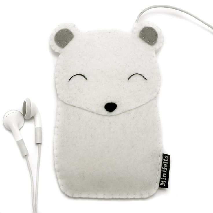 iPod Case Polar Bear iPhone Cover Mobile Phone Case par minifelts
