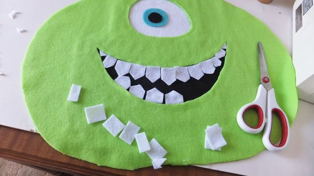 Fresh Coat of Paint: Day 31: Happy Halloween And A DIY Mike Wazowski Costume!