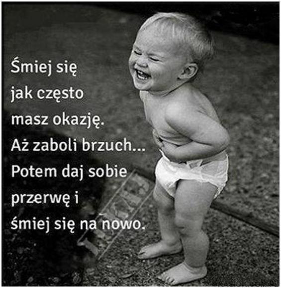 Śmiej się aż brzuch zaboli :)  #śmiech #radość #piątek