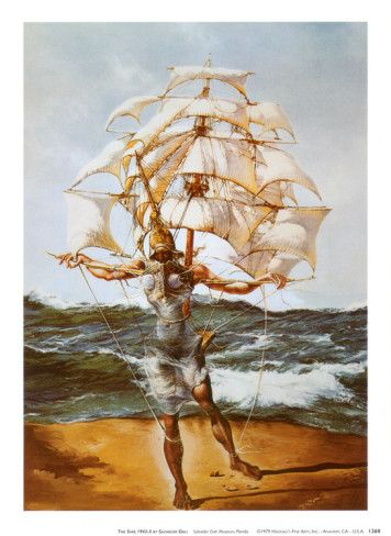 Salvador Dali-The Ship