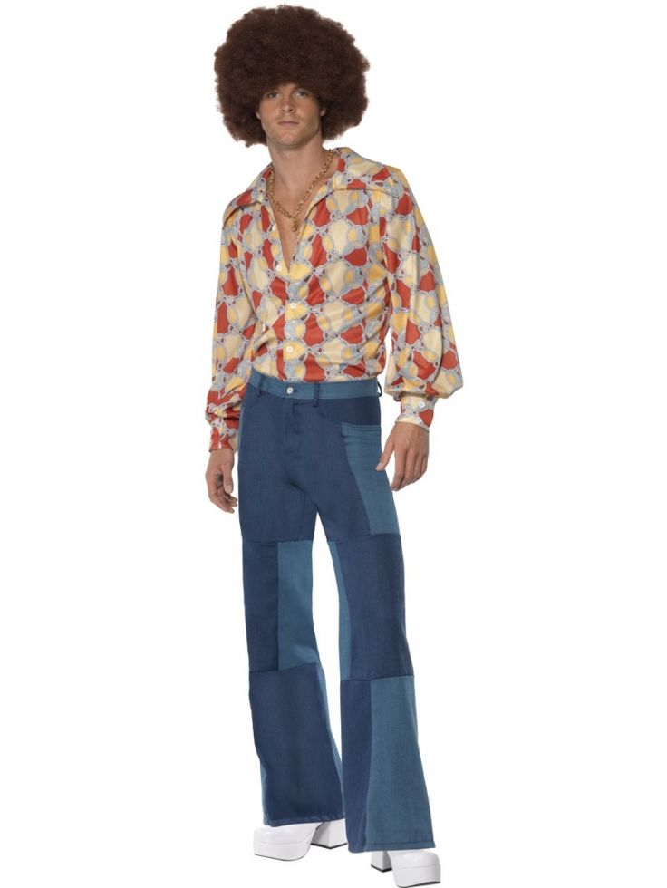 Pantalón hippy - León Disfraces . Hippy costume