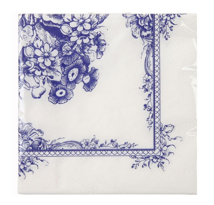 Simply stunning blue napkins - perfect for parties, anniversaries or weddings.  20 x paper napkins Size: 33cm x 33cm 3 ply