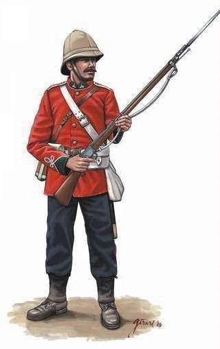 Zulu War 1879 British Infantry More