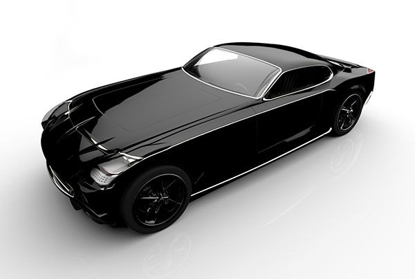 Bulletproof Sports Car Concept by Mike Enayah #coolstuff #car