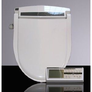Coco Bidet Elongated 9500R Toilet Seat with Remote Control