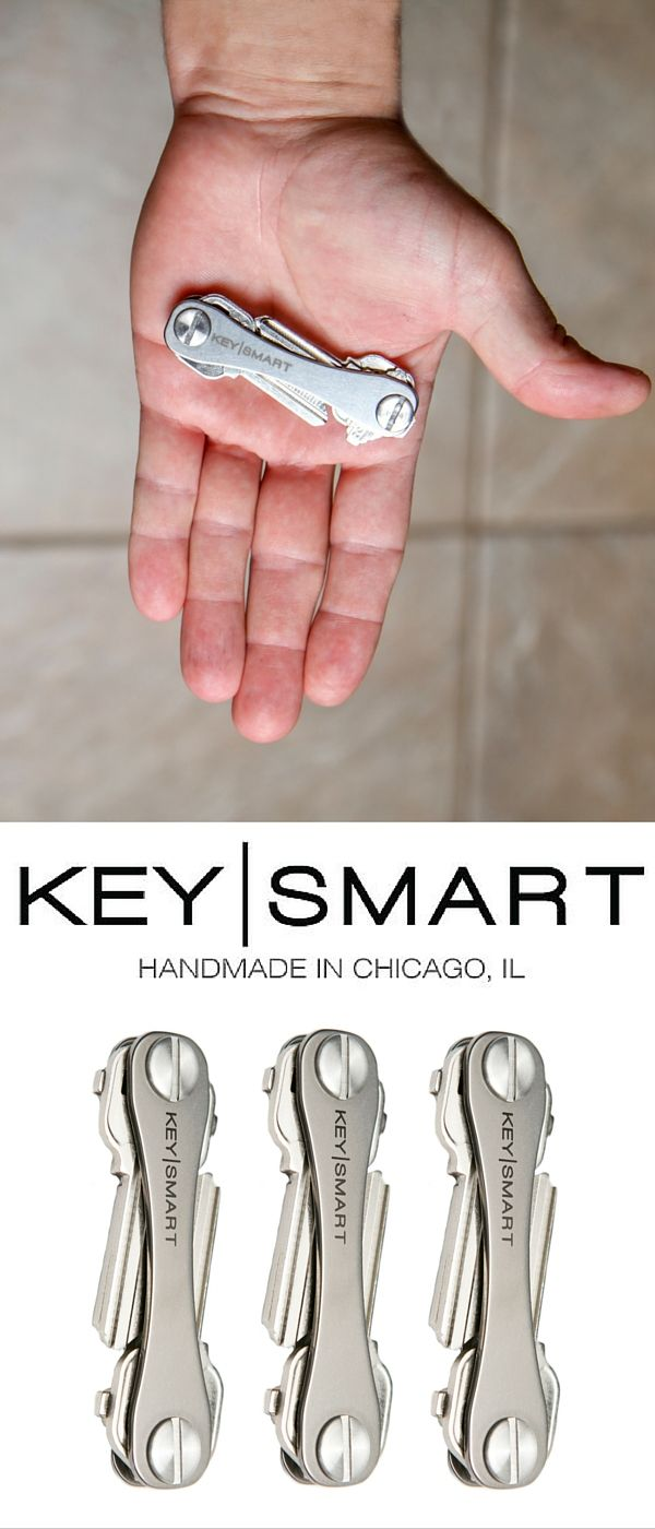 The Key Smart Titanium edition is great for anyone who has keys!  You simply unscrew the sides and insert your existing keys plus other accessories.  The titanium metal that is used is extremely durable and gives your keys a really cool look and feel.  Who knew you could get excited about your keys?  Use discount code FALL15 by November 30, 2015 for a 15% discount on everything in their store.