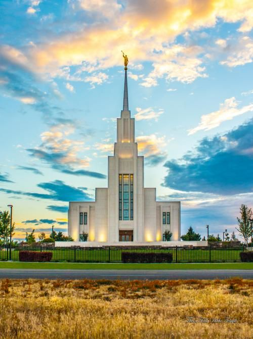 Twin falls idaho temple church picturestemple picturesmormon templeslds templestemple ldstwin fallslds mormonlds churchframed art