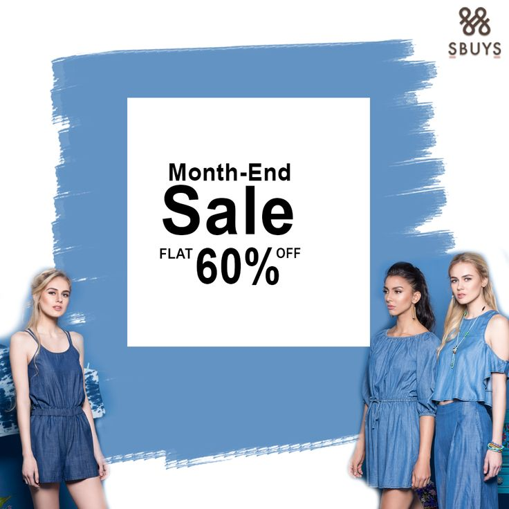 Month-End Sale Try out SbuyS latest collection Flat 60% OFF. @ www.sbuys.in  #sbuys #womenswear #stylediva #latesttrends #fashionistas #newcollection #elegant #urbanstylewear #springseason #huesandtints #newarrivals #summers #discounts