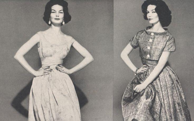 Картинки по запросу платья пятидесятых годов