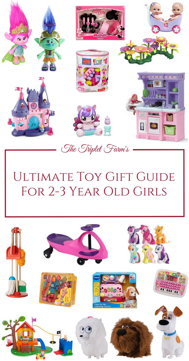 Are you searching for the best toys for 2-3-year-old girls?  Don't fret yet! I have the most awesome list you will ever need! Girls this age love a wide range of things including dolls, pretend play and the updated and popular again Troll dolls!