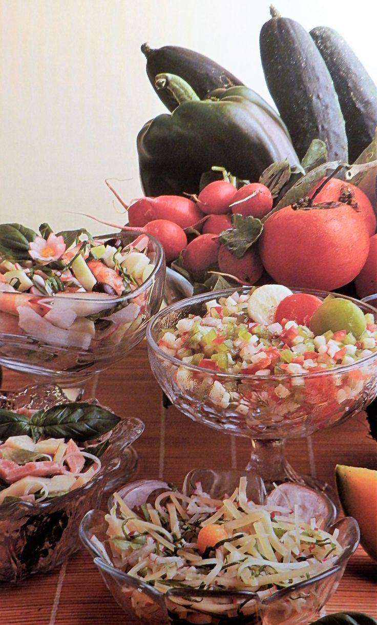 Insalata con gamberetti e noci di cocco  Per palati raffinati!!!!!!