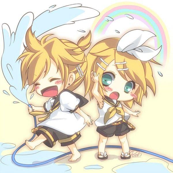 Tags: Anime, Vocaloid, Kagamine Rin, Kagamine Len