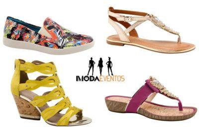 nova coleção de calçados azaleia sandálias e alpargatas