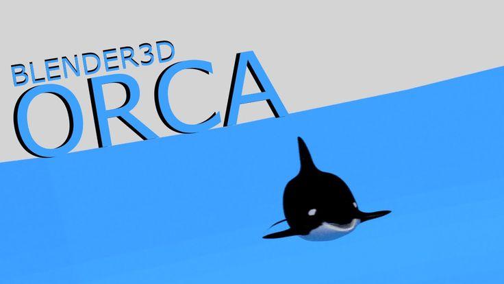 #Blender3D #TurnTable: #Orca / #KillerWhale #3D Model
