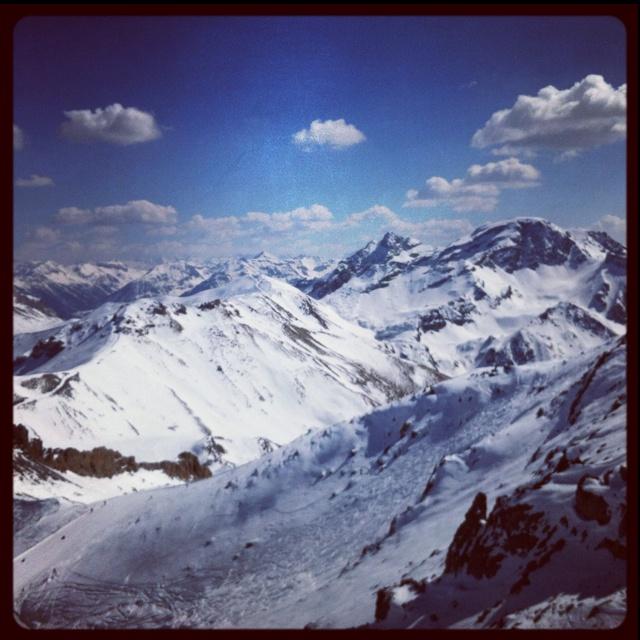 Serre chevalier - France #white #blanc #snow #neige #tourismpaca #tourismepaca #SerreChevalier #HautesAlpes #Alps #Alpes #mountain #montagne #winter #hiver #landscape #paysage