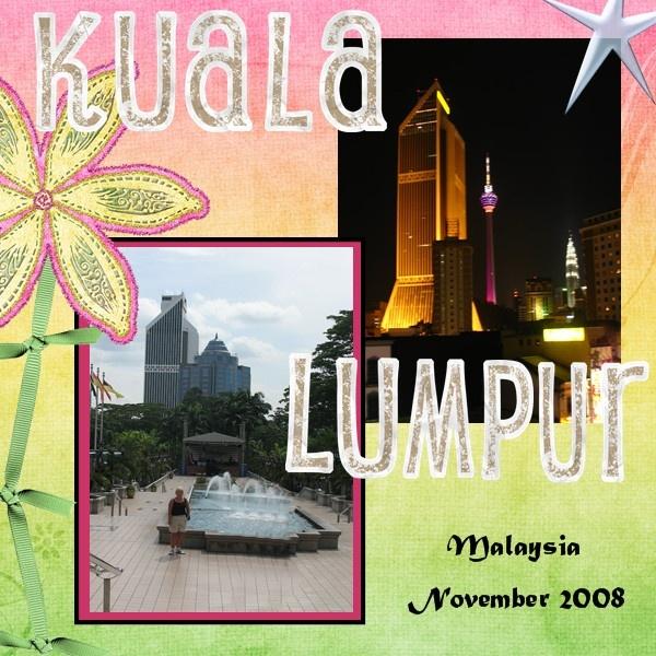 Kuala Lumpur 1 - Scrapbook.com